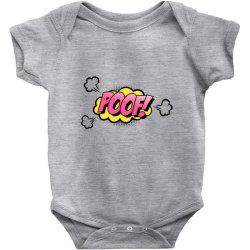 Comic Poof Art Baby Bodysuit | Artistshot