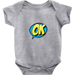 Comic Text Art Baby Bodysuit | Artistshot