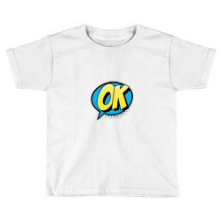 Comic Text Art Toddler T-shirt | Artistshot