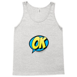 Comic Text Art Tank Top | Artistshot