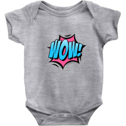 Comic Text Art Baby Bodysuit | Artistshot