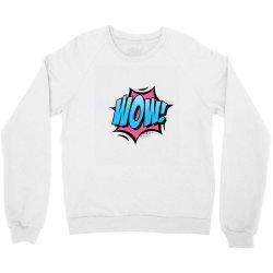 Comic Text Art Crewneck Sweatshirt | Artistshot