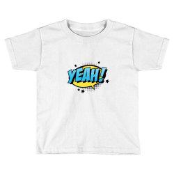 Comic Text Art Toddler T-shirt   Artistshot