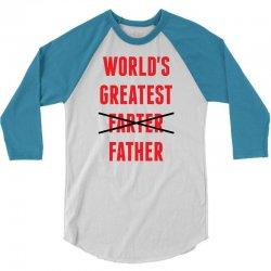 worlds greatest farter father 3/4 Sleeve Shirt | Artistshot