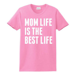 Mom Life Is The Best Life Ladies Classic T-shirt Designed By Sabriacar