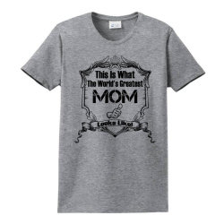 Worlds Greatest Mom Looks Like Ladies Classic T-shirt Designed By Sabriacar