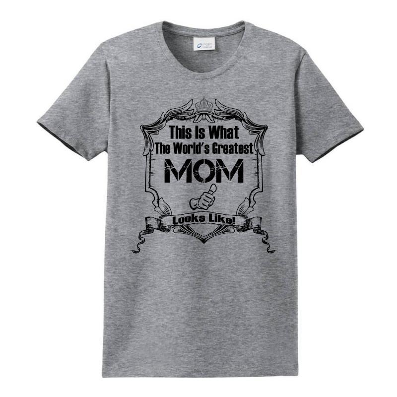Worlds Greatest Mom Looks Like Ladies Classic T-shirt | Artistshot
