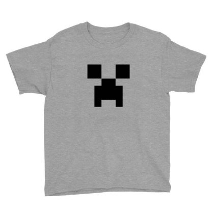 Creeper   Minecraft Youth Tee Designed By Asatya