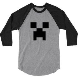 creeper   minecraft 3/4 Sleeve Shirt | Artistshot