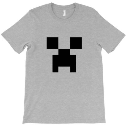 Creeper   Minecraft T-shirt Designed By Asatya