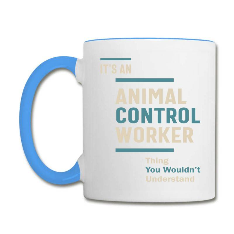 Animal Control Worker Job Title Men Women Gift Coffee Mug | Artistshot