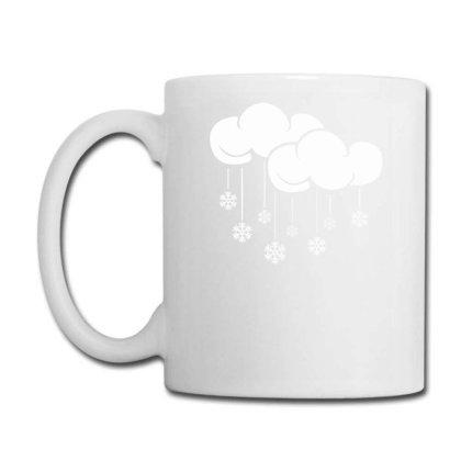 Cloud With Snowflake Coffee Mug Designed By Anma4547