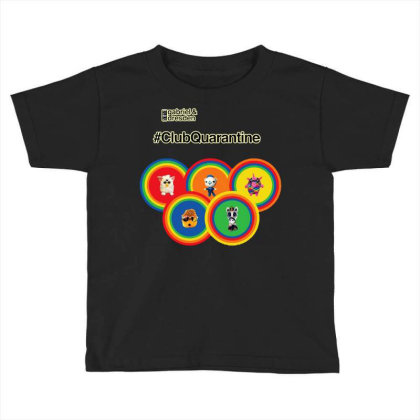 Gabriel & Dresden The Rainbow Family Toddler T-shirt Designed By Wuzztees