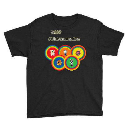 Gabriel & Dresden The Rainbow Family Youth Tee Designed By Wuzztees