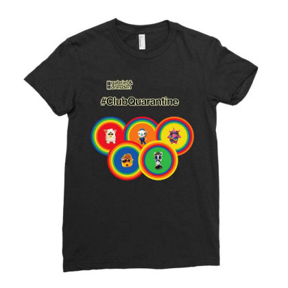 Gabriel & Dresden The Rainbow Family Ladies Fitted T-shirt Designed By Wuzztees