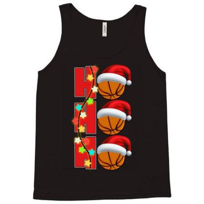 Basketball Ho Ho Ho Tank Top Designed By Badaudesign