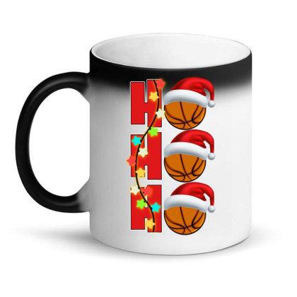 Basketball Ho Ho Ho Magic Mug Designed By Badaudesign