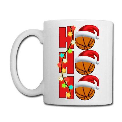 Basketball Ho Ho Ho Coffee Mug Designed By Badaudesign