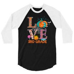 love 3rd grade 3/4 Sleeve Shirt | Artistshot