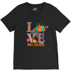 love 3rd grade V-Neck Tee | Artistshot