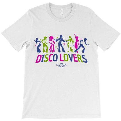 Disco Lover Retro Style T-shirt Designed By Designisfun