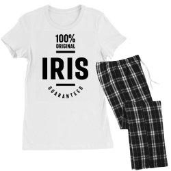 Iris Personalized Name Birthday Gift Women's Pajamas Set | Artistshot