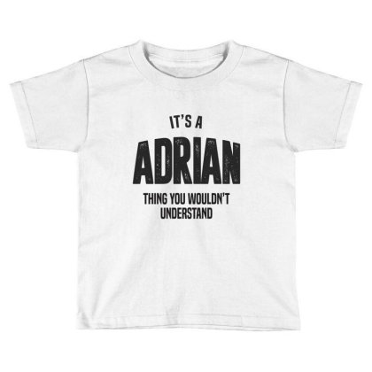 Adrian Toddler T-shirt Designed By Chris Ceconello