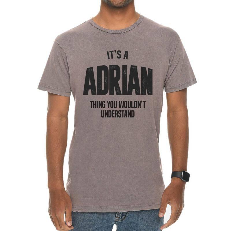 Adrian Vintage T-shirt | Artistshot