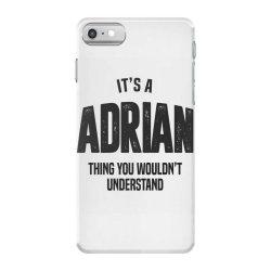 Adrian iPhone 7 Case | Artistshot