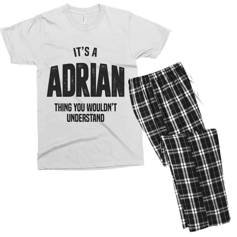 Adrian Men's T-shirt Pajama Set | Artistshot