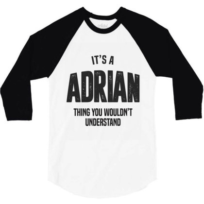 Adrian 3/4 Sleeve Shirt Designed By Chris Ceconello
