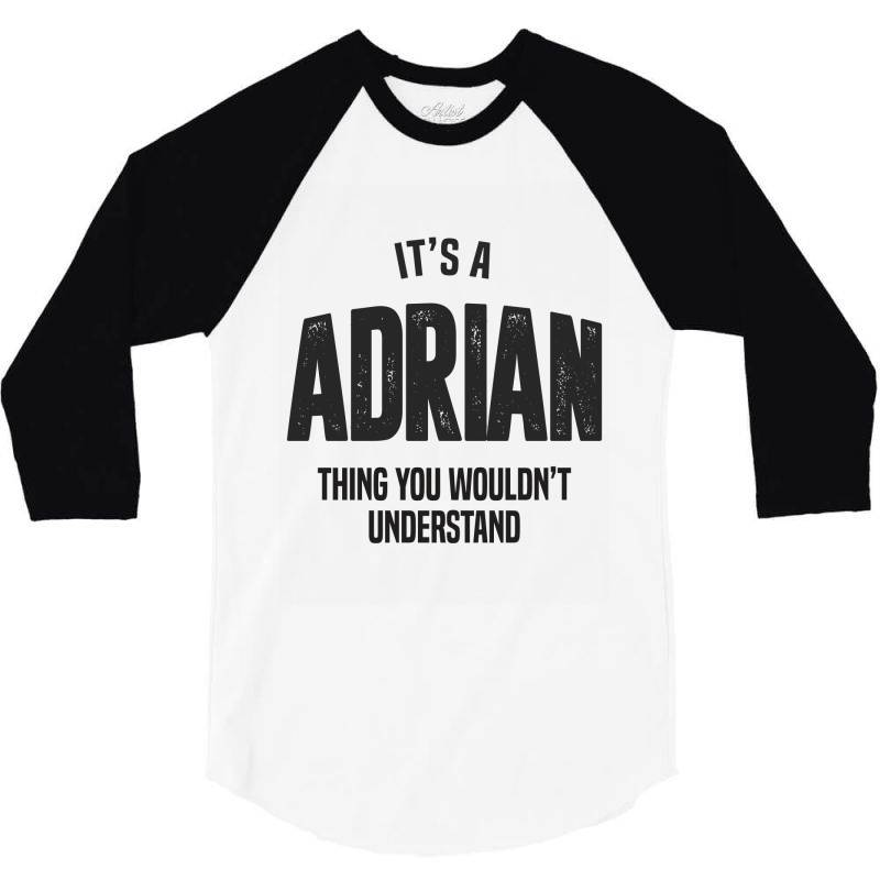 Adrian 3/4 Sleeve Shirt   Artistshot