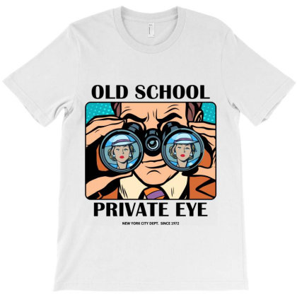 Old School Vintage Retro T-shirt Designed By Designisfun