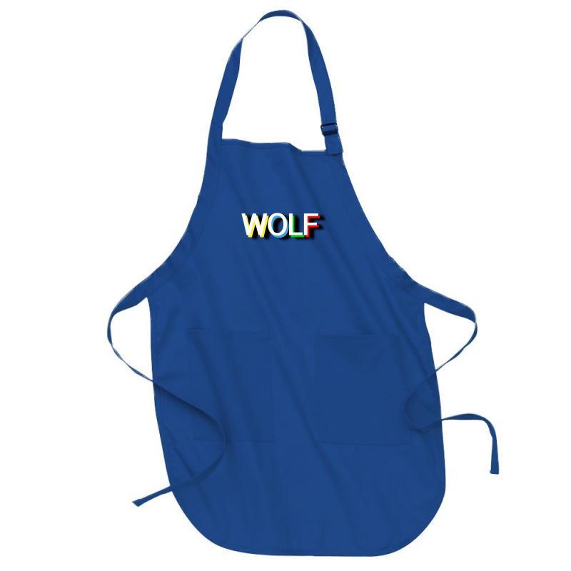 Wolf Full-length Apron   Artistshot