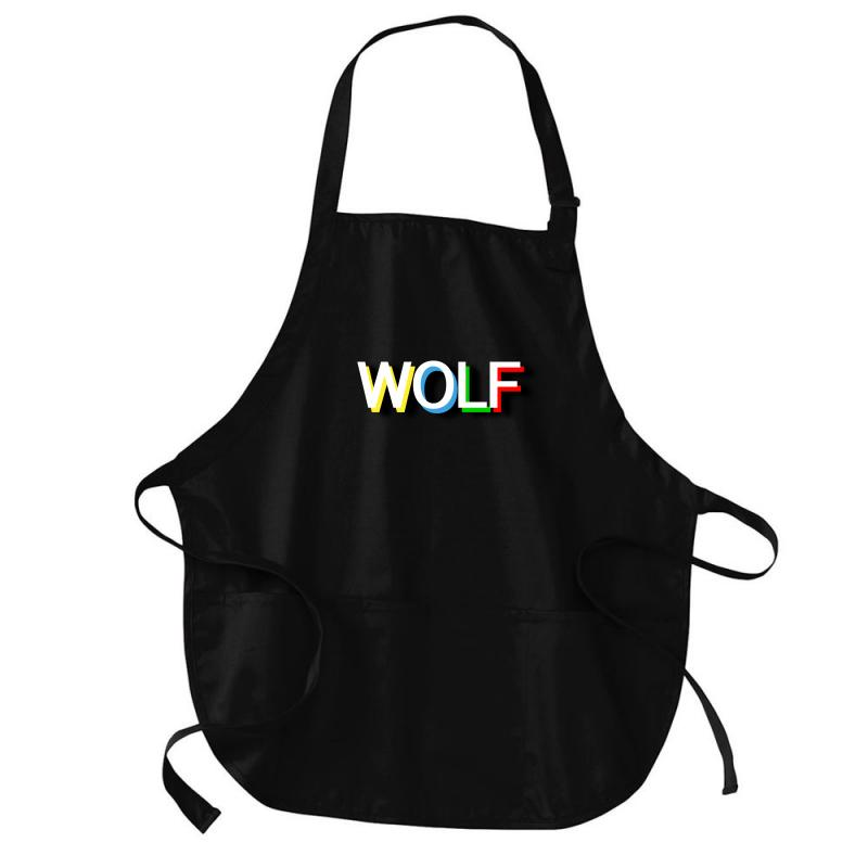 Wolf Medium-length Apron | Artistshot