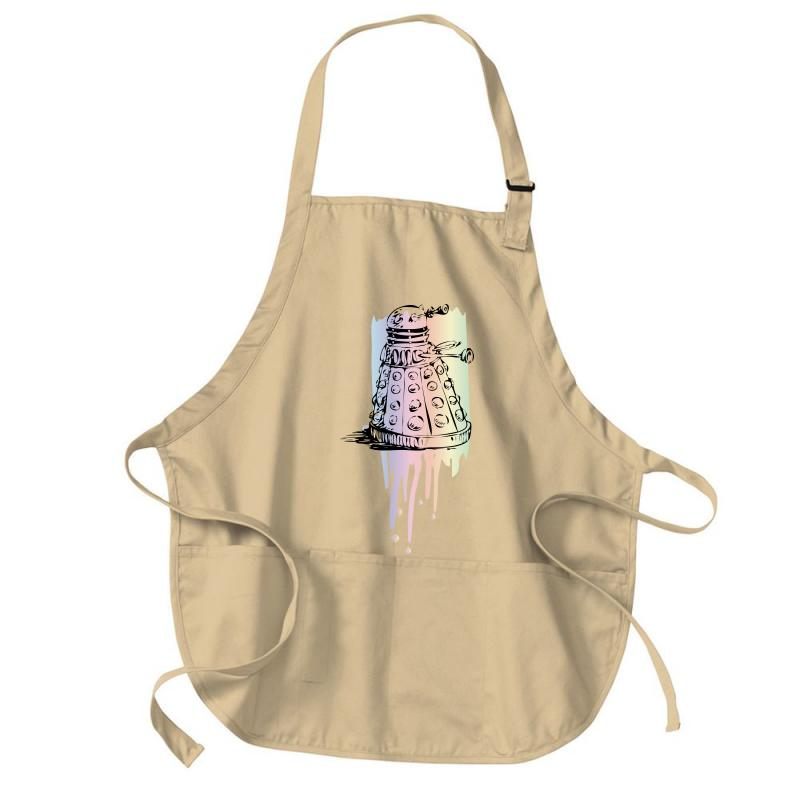 Color Dalek Medium-length Apron | Artistshot