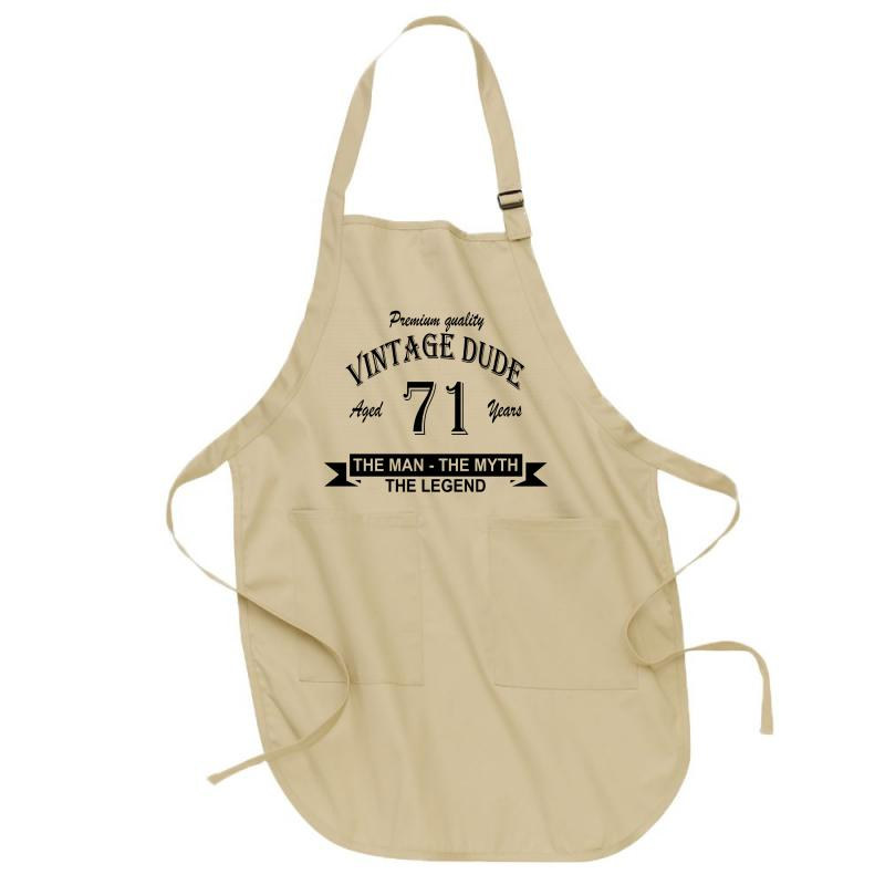 Aged 71 Years Full-length Apron | Artistshot