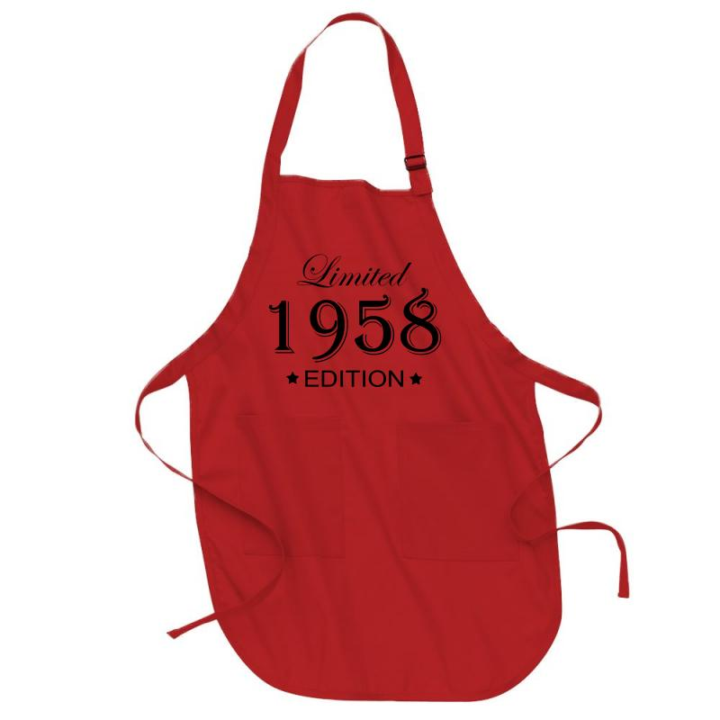 Limited Edition 1958 Full-length Apron | Artistshot