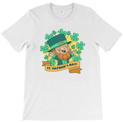 St Patricks T-shirt Designed By Designsbymallika