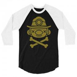 spelunky   miner 3/4 Sleeve Shirt   Artistshot