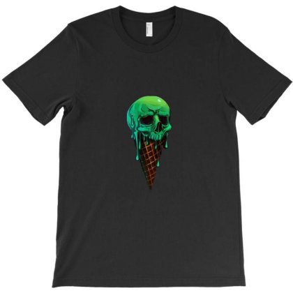 Green Ice Scream T-shirt Designed By Alpharose