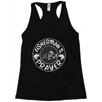 Fisherman's Prayer Racerback Tank Designed By Jovanka Tees