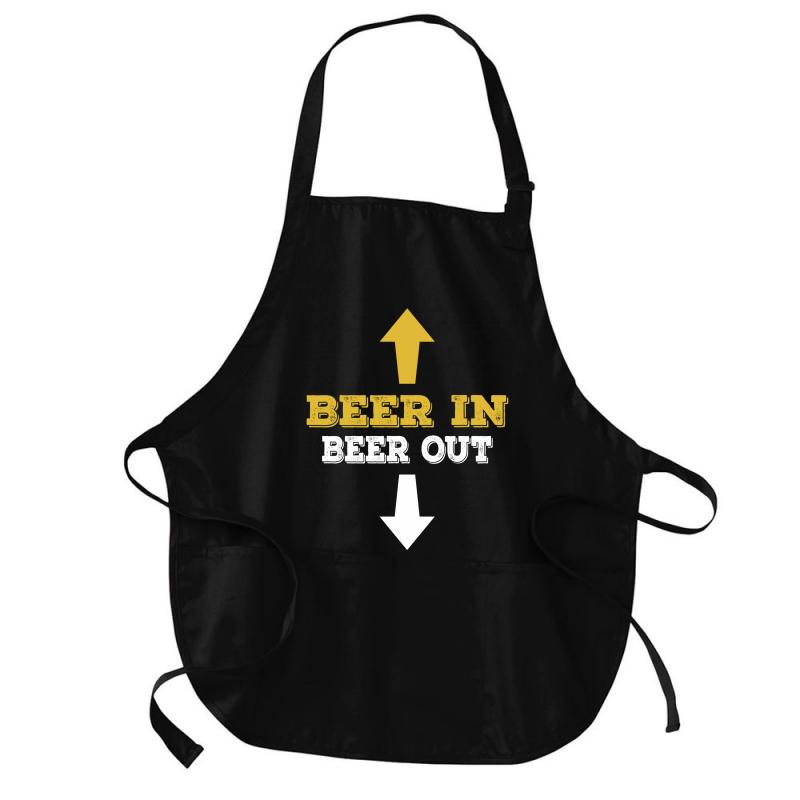 Beer In Beer Out Medium-length Apron | Artistshot