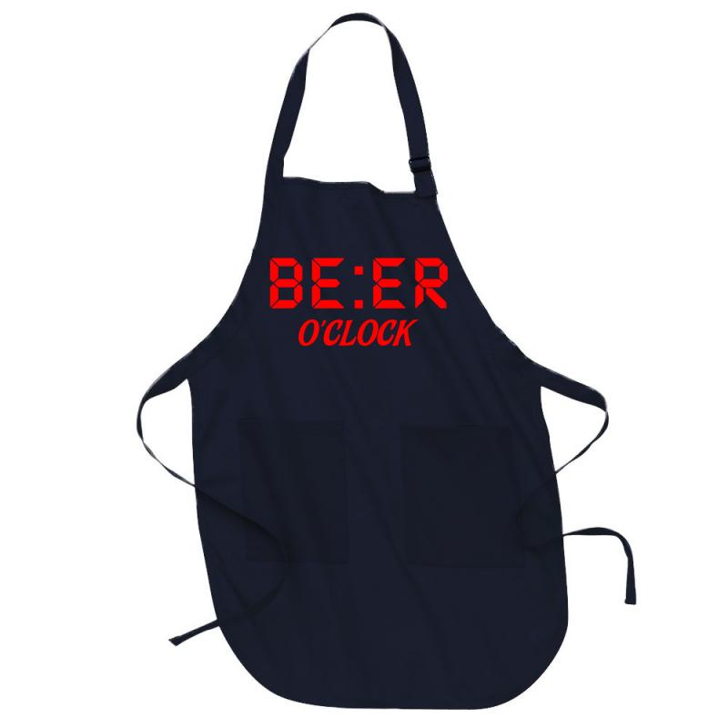 Beer O'clock Full-length Apron | Artistshot