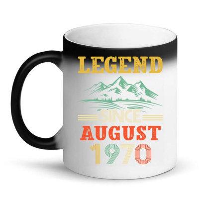 Legend Since August 1970 Magic Mug Designed By Badaudesign