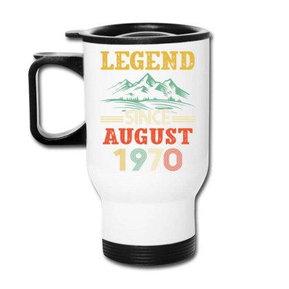 Legend Since August 1970 Travel Mug Designed By Badaudesign