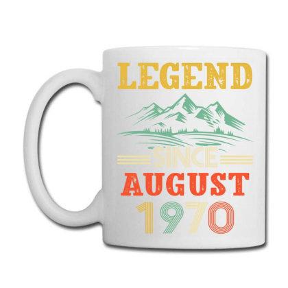 Legend Since August 1970 Coffee Mug Designed By Badaudesign