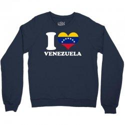 i love venezuela flag with seven stars Crewneck Sweatshirt | Artistshot