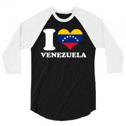 i love venezuela flag with seven stars 3/4 Sleeve Shirt | Artistshot