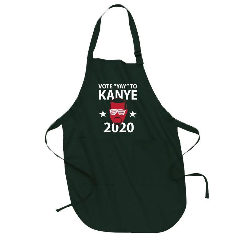 Kanye 2020 Full-length Apron   Artistshot